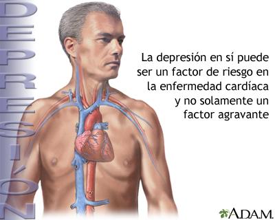 Depresión y enfermedad cardíaca