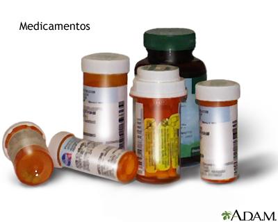 Reacciones alérgicas a medicamentos