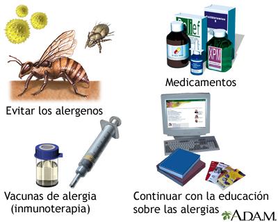 Introducción al tratamiento de las alergias