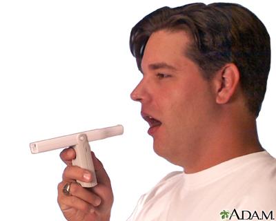 Uso del medidor de flujo espiratorio máximo (Tercera parte)