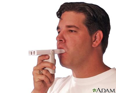 Uso del medidor de flujo espiratorio máximo (Quinta parte)
