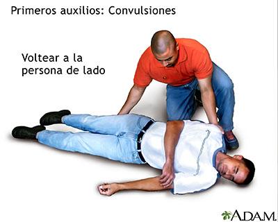 Primeros auxilios en caso de desmayo y convulsiones