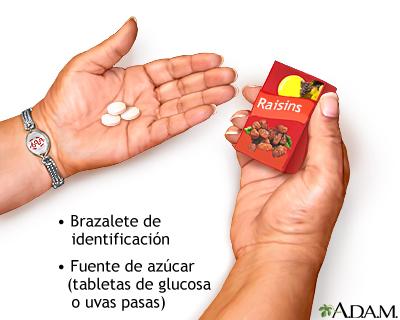 Suministros de emergencia del diabético