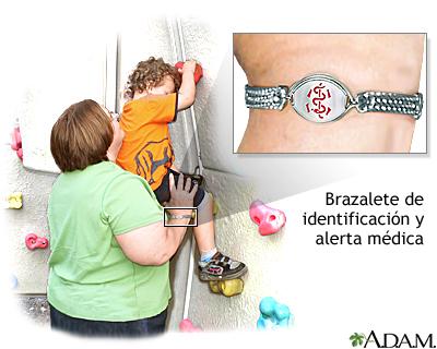 ec5a754f17b8 Brazalete de alerta médica  MedlinePlus enciclopedia médica