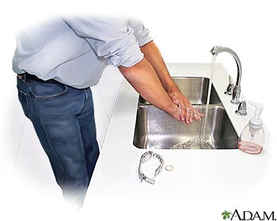 Lavado apropiado de las manos