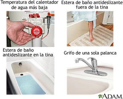 Seguridad en el baño