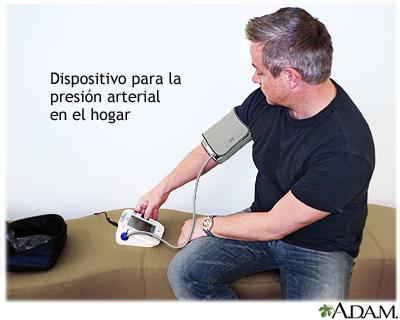 Tomarse la presión arterial en el hogar