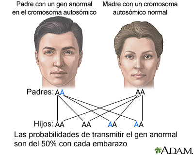 Genes autosómicos dominantes