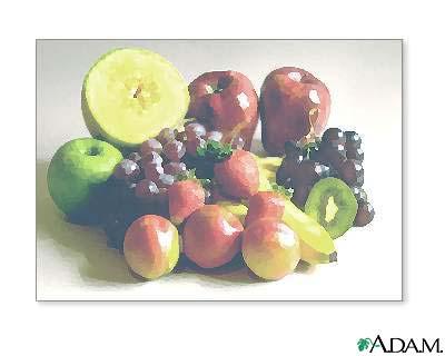 Pesticidas y frutas